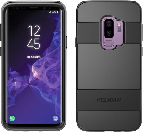 Samsung Galaxy S9 Plus Case - Pelican Voyager Case for Samsung Galaxy S9+ Black