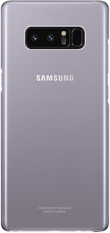 Samsung Galaxy Note8 Clear Protective Cover , Orchid Gray
