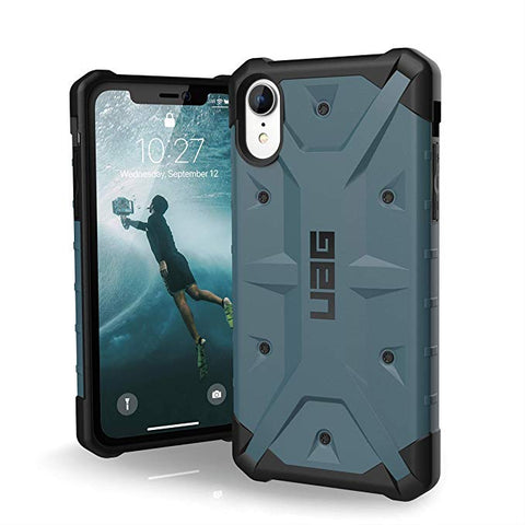 "UAG iPhone XR [6.1"" Screen] Pathfinder Feather-Light Rugged [Slate] Military Drop Tested iPhone Case"