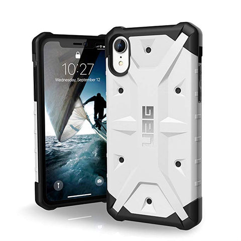 "UAG iPhone XR [6.1"" Screen] Pathfinder Feather-Light Rugged [White] Military Drop Tested iPhone Case"