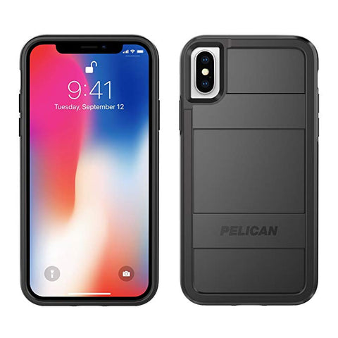 iPhone X Case | Pelican Protector iPhone X Case (Black)