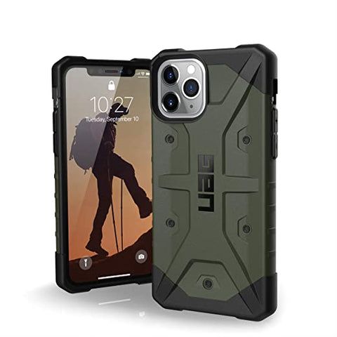 UAG Designed for iPhone 11 Pro [5.8-inch Screen] Pathfinder Feather-Light Rugged [Olive Drab]