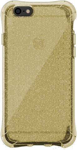 BALLISTIC Jewel Series Case for Apple iPhone 6 - Retail Packaging - Clear/Gold Glitter