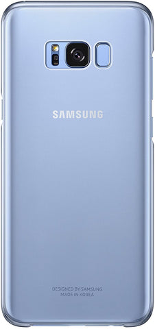 Samsung Galaxy S8 Plus Clear Protective Cover, Blue