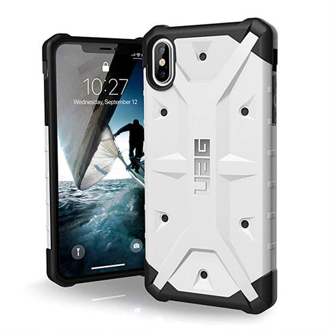 "UAG iPhone Xs Max [6.5"" Screen] Pathfinder Feather-Light Rugged [White] Military Drop Tested iPhone Case"