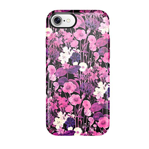 Speck Presidio Inked Cell Phone Case for iPhone 7 - FlowerEtch Pink Metallic/Magenta