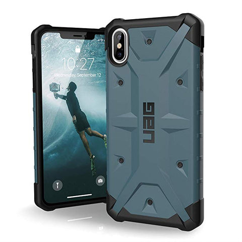 "UAG iPhone Xs Max [6.5"" Screen] PATHFINDER Feather-Light Rugged - Slate"