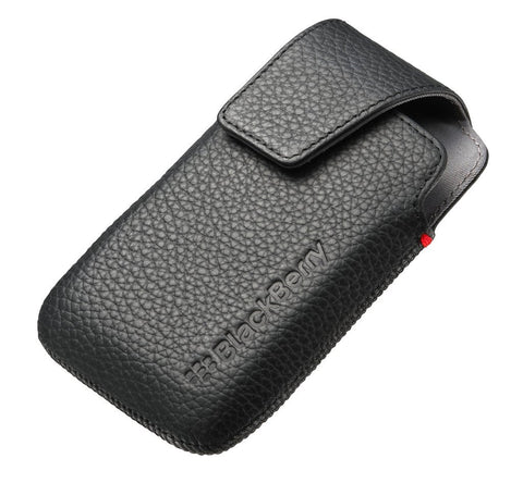 BlackBerry ACC41815101 9790 Leather Holster Black