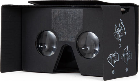 Case-Mate Google Cardboard VR Viewer V2.0 - Vertical Sleeve - Black