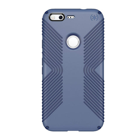 Speck Products Presidio Grip Cell Phone Case for Google Pixel - Twilight Blue/Marine Blue (Fits Google Pixel Only, Not Pixel 2 Or XL)