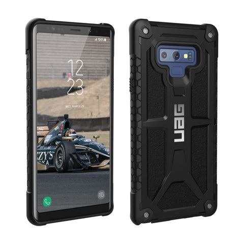 UAG Galaxy Note 9 Black Monarch Series