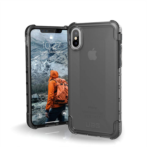 UAG iPhone Xs/X [5.8-Inch Screen] Plyo Feather-Light Rugged [Ash] Military Drop Tested iPhone Case