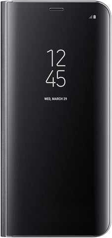 Samsung EF-ZG955CBEGUS Galaxy S8 Plus S-View Flip Cover with kickstand, Black