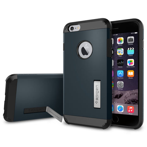 Spigen Tough Armor Case for iPhone 6/6S Plus - Metal Slate