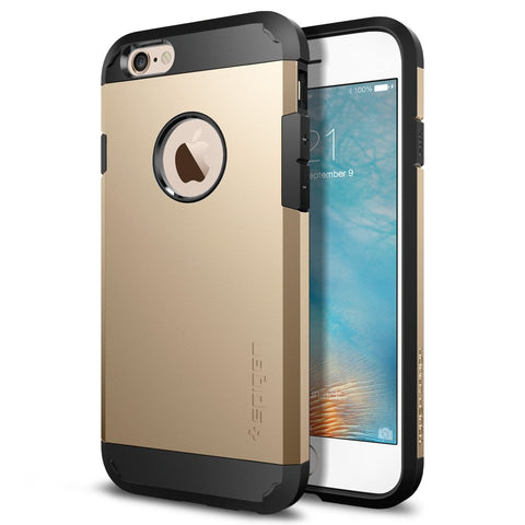 Spigen SGP11613 Tough Armor Case for iPhone 6S (Champagne Gold)