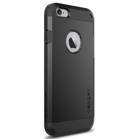 Spigen iPhone 6s Case Tough Armor, Black mobile phone case - Black