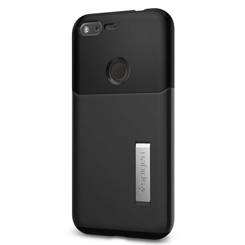 Google Pixel XL Case, Spigen Slim Armor Case for Google Pixel XL Black