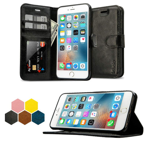 IPhone 6 LBT Wallet BK