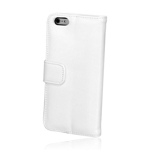 LBT Lambskin Leather Wallet White Case for iPhone 6/6S plus