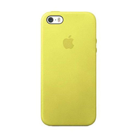 Apple Yellow Leather Case For IPhone 5S