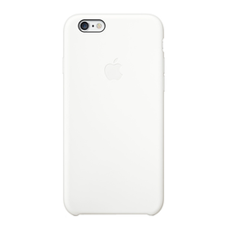 Apple iPhone 6 Silicone Case (White)