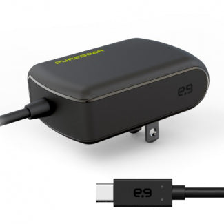 Puregear Travel Charger Corded to Type C 15 W - Black