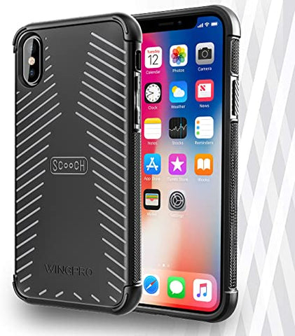 Scooch Wingpro iPhone Xs Phone Case (Also fits iPhone X) (Stone)