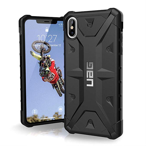 "URBAN ARMOR GEAR UAG iPhone Xs Max [6.5"" Screen] Pathfinder Feather-Light Rugged [Black] Military Drop Tested iPhone Case"
