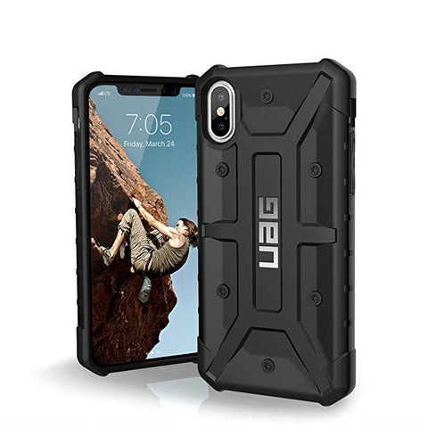UAG iPhone Xs/X [5.8-inch Screen] Pathfinder Feather-Light Rugged [Black] Military Drop Tested iPhone Case