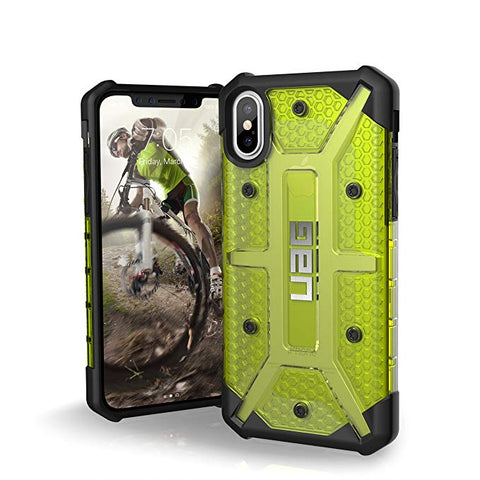 UAG iPhone Xs/X [5.8-inch Screen] PLASMA Feather-Light Rugged - Citron