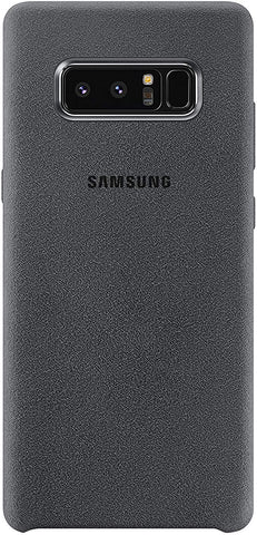 Samsung EF-XN950AJEGUS Galaxy Note8 Alcantara Cover, Dark Gray