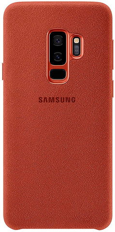 Samsung Galaxy S9 Plus Alcantara Case, Red