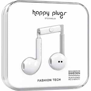 Happy Plugs Earbud Plus Headphone - White