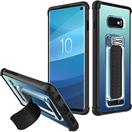 Scooch Wingman Case for Galaxy S10e (Tuxedo) - Retail Packaging
