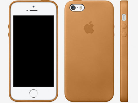 Apple iPhone 5s Official Case - Brown