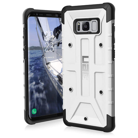 UAG Samsung Galaxy S8 Plus Pathfinder Feather-Light Rugged [WHITE] Military Drop Tested Phone Case