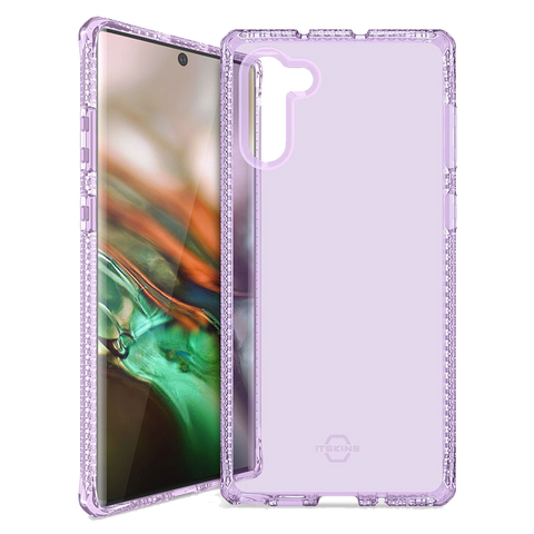 ITSKINS - Spectrum Clear Case for Samsung Galaxy Note10 Plus - Light Purple