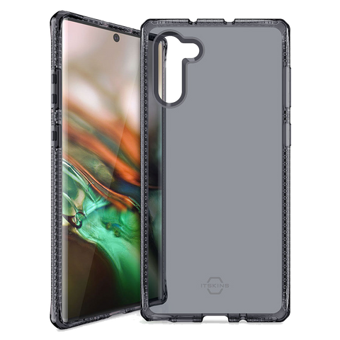 ITSKINS - Spectrum Clear Case for Samsung Galaxy Note10 Plus - Smoke
