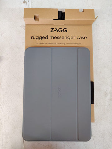 "Zagg Rugged Messenger Case for iPad Air 10.5"" 3rd Gen - Gray"