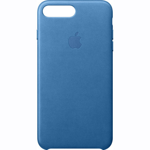 Genuine Apple Leather Case for iPhone 8 & 7 Plus - Sea Blue