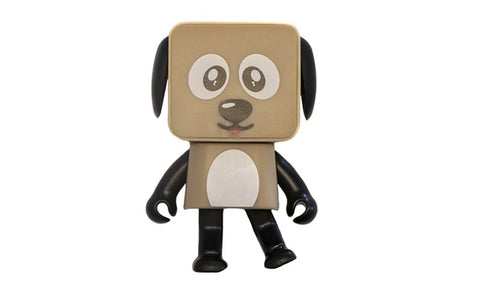 ZTech Dancing Dog Wireless Bluetooth Speaker Brown