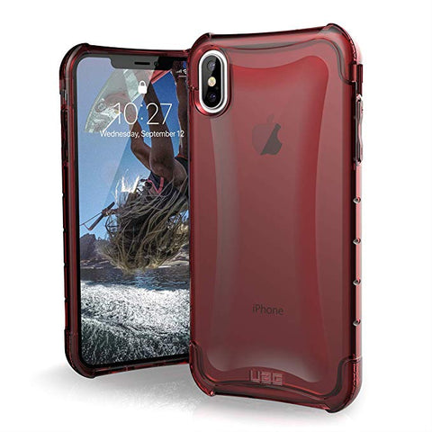 UAG iPhone Xs Max [6.5-inch Screen] PLYO Feather-Light Rugged - Crimson