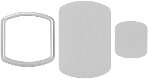 SCOSCHE MagicMount Magnetic Mount Replacement Plate Kit - Space Gray