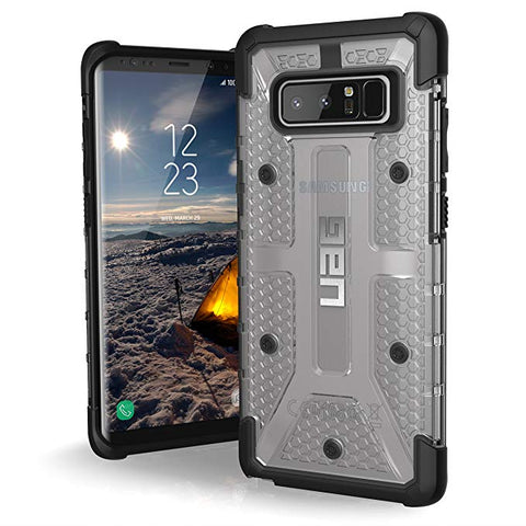 UAG Samsung Galaxy Note 8 Ice/Black PLASMA Series case
