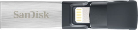 SanDisk - iXpand 32GB USB 3.0/Lightning Flash Drive