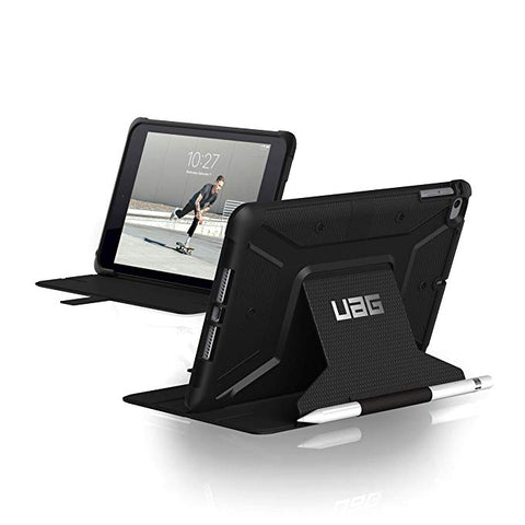 UAG Folio iPad Mini (4th and 5th Gen, 2019) Metropolis Feather-Light Rugged - Black (Pencil Holder NOT included)