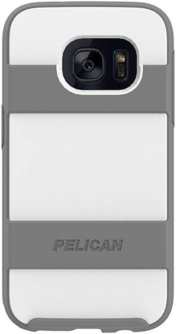 Pelican Voyager Phone Case Samsung Galaxy S7 White/Gray