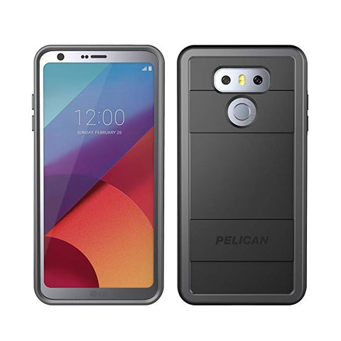 Pelican Protector LG G6 Case - Black/Light Grey