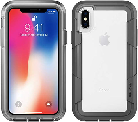 Pelican Voyager iPhone X/Xs Case Clear/Grey