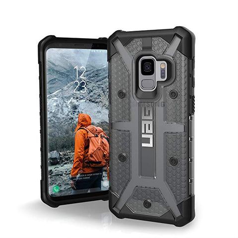 UAG Samsung Galaxy S9 PLASMA Feather-Light Rugged Ash